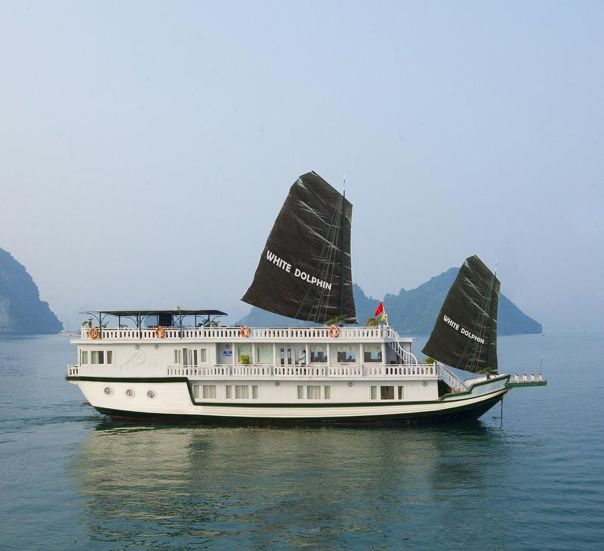 Halong White Dolphin Cruise 2 Days by Toursvietnam.com.au