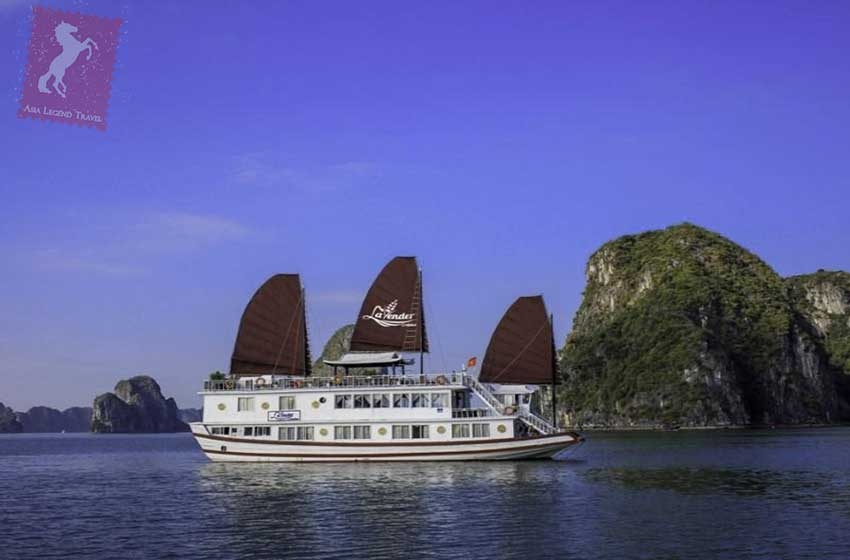 Lavender Cruise Halong Bay | Asia Legend Travel