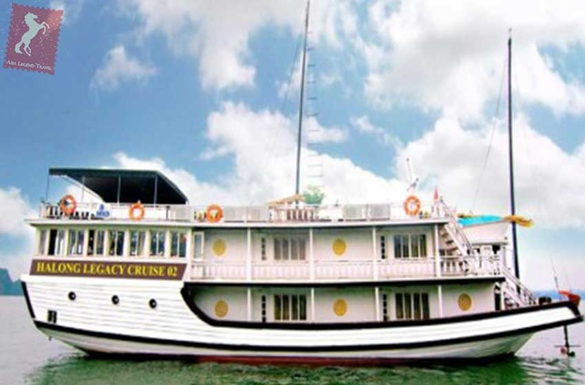 Legacy Cruise 2 Days 1 Night Halong Bay | Asia Legend Travel