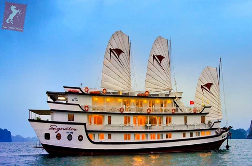 Halong Signature Cruise 3 days by Toursvietnam.com.au