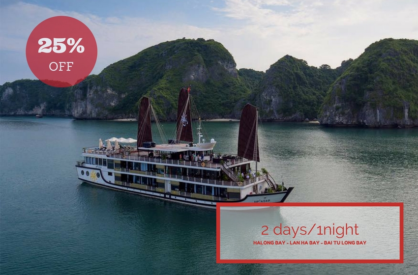 Orchid Cruise Halong Bay | Asia Legend Travel