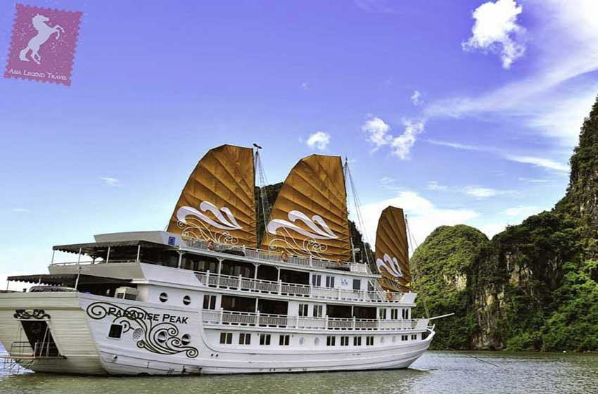 Paradise Peak Cruise 3 Days Halong Bay | Asia Legend Travel