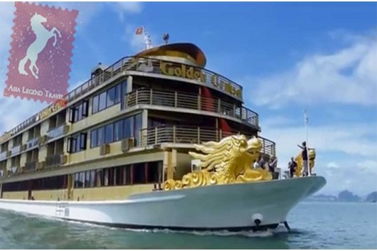 Golden Cruise 9999 Halong Bay | Asia Legend Travel